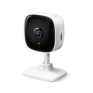 """TP-LINK Tapo C110, White, IP Camera, WiFi, Video resolution: 1080p, 114° angle lens, 1/2.8"""", F/NO: 2.0; Focal Length: 3.3mm, 2-way audio, Motion Detection, Alerts. Privacy Mode, Night Vision, MicroSD up to 256GB, Andoid/iOS"""