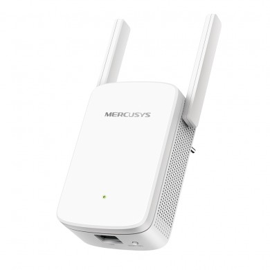 MERCUSYS ME30  AC1200 Wireless Wall Plugged Range Extender, 867Mbps on 5GHz +  300Mbps on 2.4GHz, 802.11ac/n/g/b, 1 Lan Port, Ranger Extender mode, Access Control, Concurrent Mode boost both 2.4G/5G, WPS, 2 external antennas