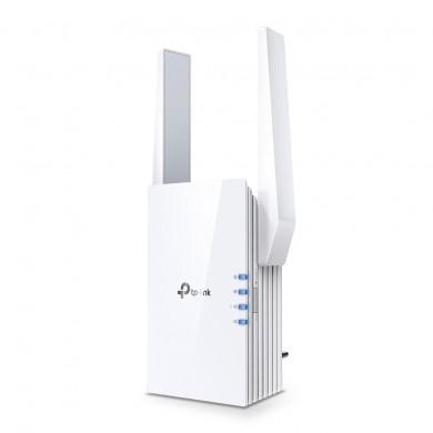 TP-LINK RE605X  Wi-Fi 6 Wall Plugged Range Extender, Atheros, 1200Mbps on 5GHz + 300Mbps on 2.4GHz, 802.11ax/ac/n/g/b, 1 Gigabit Lan Port, OneMesh technology, Ranger Extender mode, Access Control, WPS, 2 external antennas