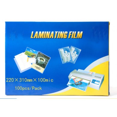 PSPET 007892, A4 Lamination Film 80 microns, 100 sheets, PS.