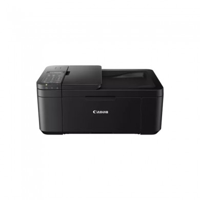 MFD Canon Pixma TR4640 Black, Colour Printer/Duplex/Scanner/Copier/Fax/Wi-Fi, ADF(20-sheet), A4, Print 4800x1200dpi_2pl,Scan 600x1200dpi,ESAT 8.8/4.4 ipm,64-300г/м2,Cassette:100 sheets, USB 2.0, 2 x  Ink Cartridge PG-445,CL-446( PG-445XL,CL-446XL)