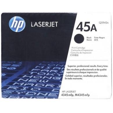 HP №45A Black Cartridge, 42ml, Large, 830 A4 size pages at 5% coverage, for copier 290, DesignJet 700, 750, 755, DJ1100C, 1120, 1220, 1600, 6120, 710C, 720C, 815C, 880C, 820cxi, 850, 870, 890, 9xx series, fax 1220