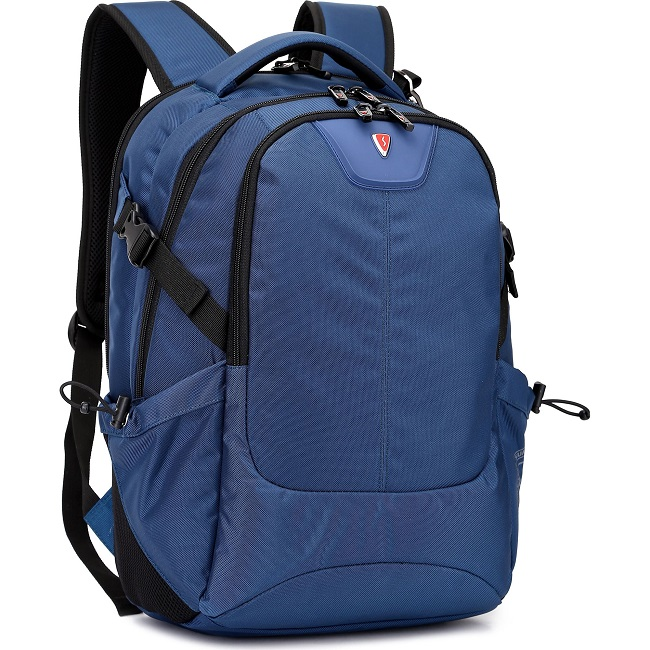 """15.6"""" NB Backpack - SUMDEX RED (S) """"City II"""", Blue, Main Compartment: 38 x 28 x 4 cm, Dimensions: 46 x 33 x 20 cm"""