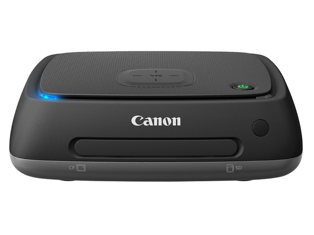 """2.5"""" Connect Station Canon CS100CIS, 1TB, USB2.0, NFC, WiFi, 10BASE-T, 100BASE-TX, 1000BASE-T, HDMI, Memory card slots CF/SD, Remote Control CS-RC1, Flickr®, Facebook™, Google™ and irista support"""