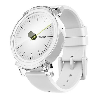 Ticwatch  E by Mobvoi, Ice White, 1.4