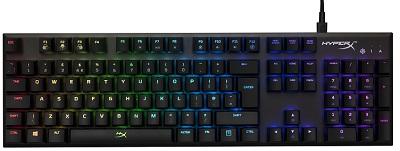 Tastatura HYPERX Alloy FPS RGB, Kailh Silver key switch, [HX-KB1SS2-RU]