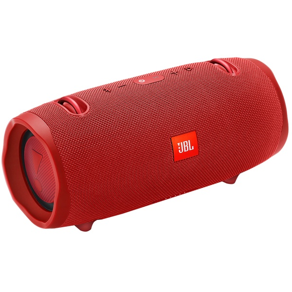 JBL Xtreme 2 Red / Bluetooth Portable Speaker, 40W (2x20W) RMS, BT Type 4.2, Frequency response:  55Hz–20kHz, IPX7 Waterproof, Speakerphone, 10000mAh power bank USB 5V/2A ,  JBL Connect+, Power supply: 19V 3A, Battery life (up to) 15 hr