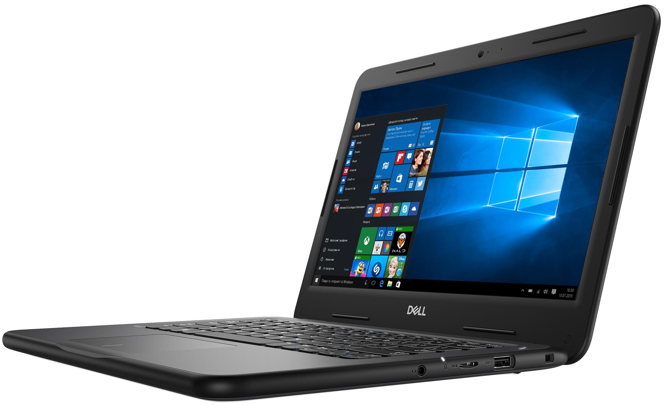 DELL Latitude 3300 Black, 13.3'' HD AG (Intel® Core™  i3-7020U, 8GB (1x8GB) DDR4 RAM, M.2 256GB 2230, Intel® HD Graphics, no OD, CardReader, BT4.2, WiFi-AC, HDMI, 3-Cell 42Whr, HD Webcam, Win10 Pro, 1,19kg)