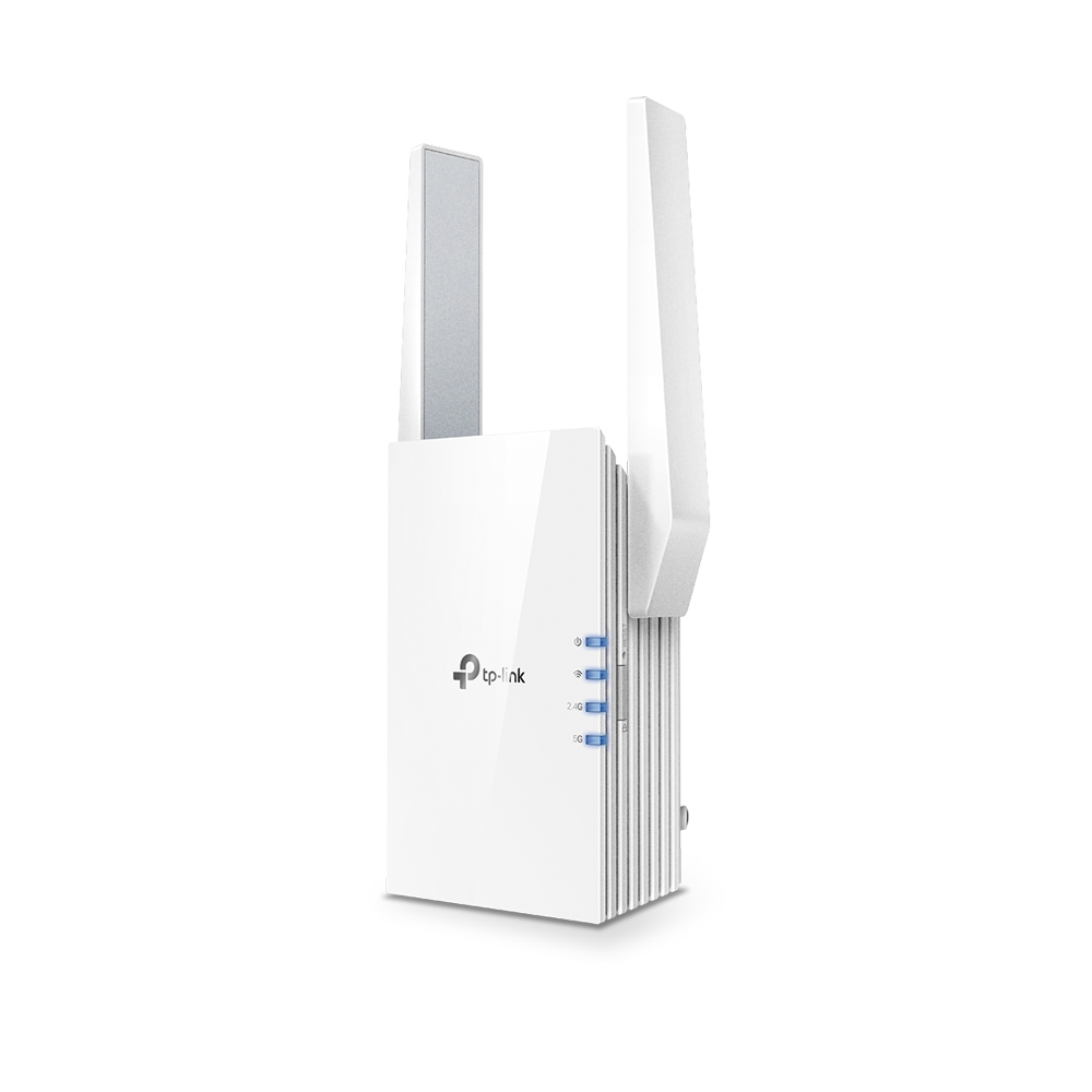 TP-LINK RE505X  Wi-Fi 6 Wall Plugged Range Extender, Atheros, 1200Mbps on 5GHz + 300Mbps on 2.4GHz, 802.11ax/ac/n/g/b, 1 Gigabit Lan Port, Ranger Extender mode, Access Control, WPS, 2 external antennas