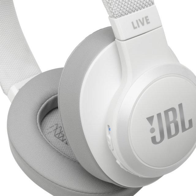 JBL LIVE 500BT / Wireless Over-Ear Headphones, White