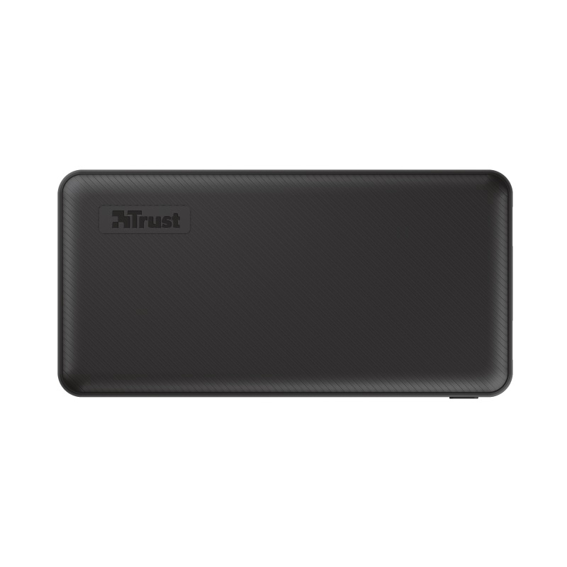 20000mAh Power bank - Trust Primo, Fast-charge with maximum speed via USB-C (15W) or USB-A (12W). Charging speed varies between devices