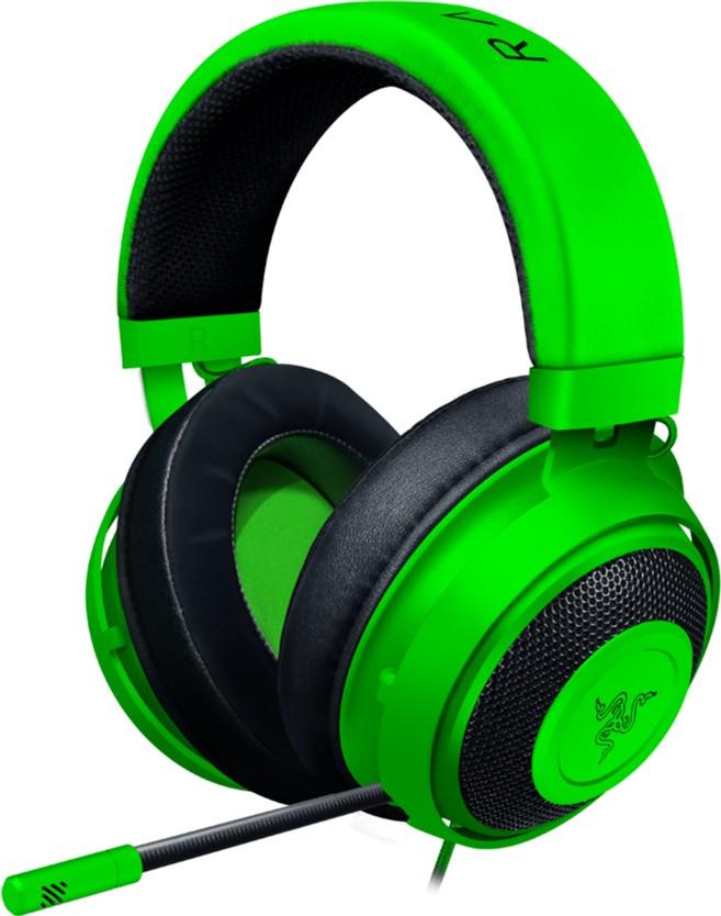 Casti Gaming RAZER Kraken Green