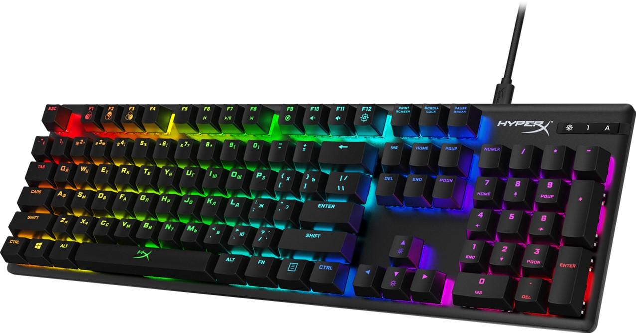 Tastatura HYPERX Alloy Origins RGB, HyperX Blue key switch, [HX-KB6BLX-RU]