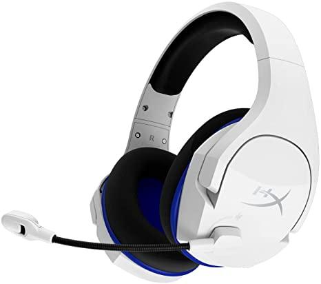 Casti Gaming Wireless HyperX Cloud Stinger Core, PS4/PC, white, [HHSS1C-KB-WT/G]