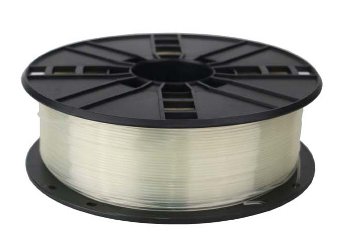 Gembird PLA Filament, Transparent, 1.75 mm, 1 kg