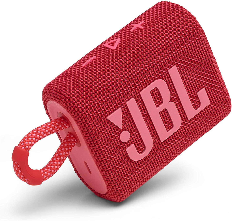 JBL Go 3 Red / Bluetooth Portable Speaker, 4.2W (1x4.2W) RMS, BT Type 5.1, IP67 Waterproof, USB Type-C