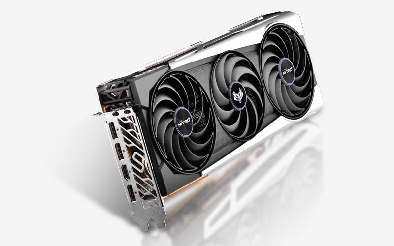 Sapphire NITRO+ Radeon RX 6700 XT OC 12GB GDDR6 192Bit 2622/16000Mhz, 1xHDMI, 3xDP, Triple Fan, SP: 2560, AMD RDNA 2, 2nd Gen 7nm GPU, PCIe4.0, Dual Bios, IFC IV, Hybrid Fan Blade, Tri-X Cooling, Metal Backplate w/ARGB, Lite Retail