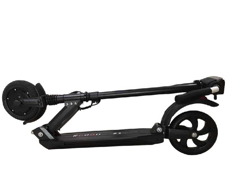 """KUGOO S3, Folding Electronic Scooter, Black, Max speed 30km/h, Power 350W, Battery capacity:25km in a single charge, Weight 12kg, Wheel 8"""", Maximum load: 100kg, Headlight Front/Rear LED"""